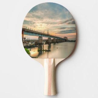 Raquette Tennis De Table Pont en train de Rockaway
