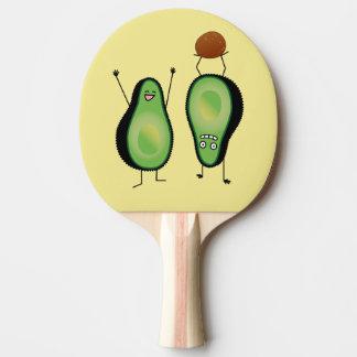 Raquette Tennis De Table Puits vert encourageant drôle d'appui renversé