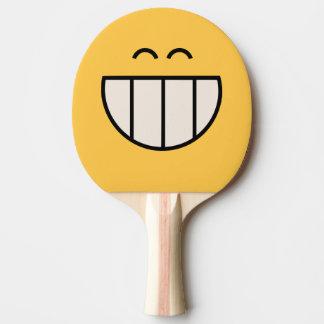 Raquette Tennis De Table Raquette souriante de ping-pong de grande grimace