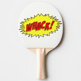 Raquette Tennis De Table Rétros comiques se battent se battent ! Palette de