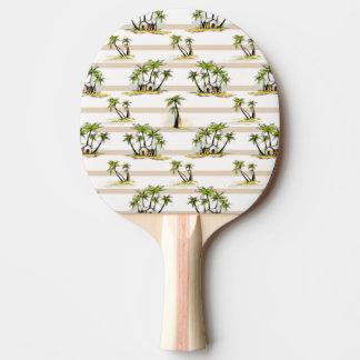 Raquette Tennis De Table Shack tropical et paumes