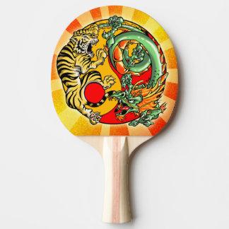 Raquette Tennis De Table Tigre et dragon de Tao