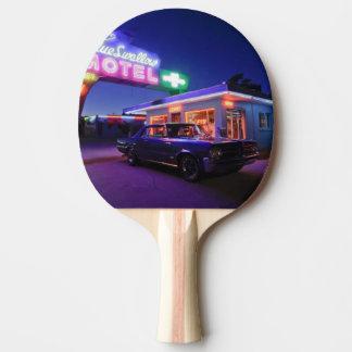Raquette Tennis De Table Tucumcari, Nouveau Mexique, Etats-Unis. Itinéraire