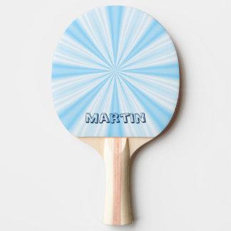 Raquette Tennis De Table Vortex bleu, personnalisé