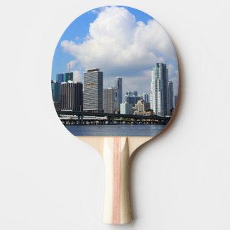 Raquette Tennis De Table Vue de bord de mer de Miami