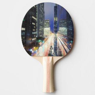 Raquette Tennis De Table Vue des bâtiments financiers de Centre Technique