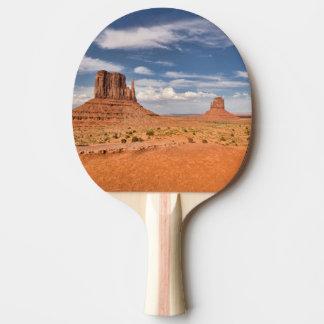 Raquette Tennis De Table Vue des mitaines, vallée de monument