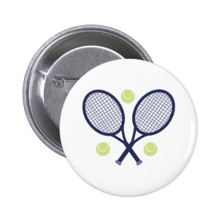 Raquettes de tennis badges