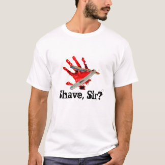 Rasage, monsieur ? t-shirt