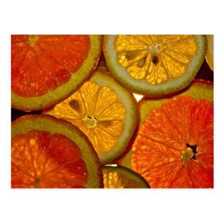 Rassemblement de fruit carte postale