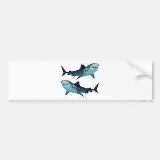 Rassemblement de requin autocollant pour voiture