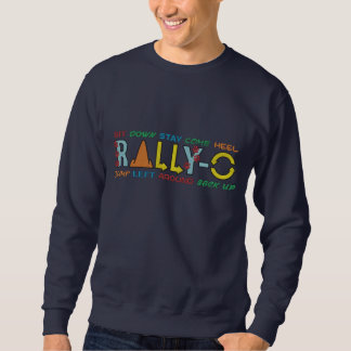 Rassemblement-o coloré sweatshirt brodé