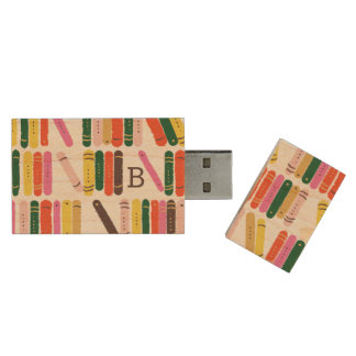 Rat de bibliothèque clé USB 3.0 en bois