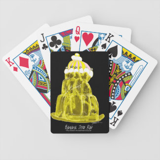 rat élégant de jello de la banane des fernandes jeu de cartes