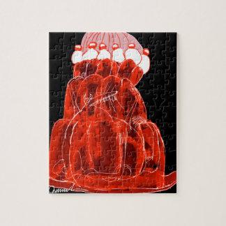 rat élégant de jello de la fraise des fernandes puzzle