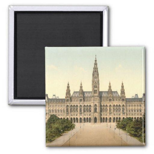 Rathaus, Vienne, Autriche Magnets Pour Réfrigérateur