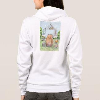 Ratière le sweat - shirt à capuche de capybara