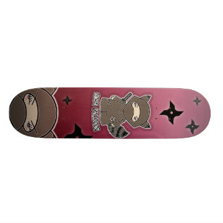 Raton laveur de Ninja ! Planche à roulettes Skateboard 20,6 Cm