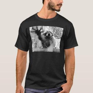 Raton laveur fou t-shirt