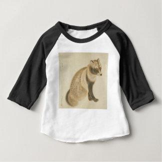 Raton laveur japonais t-shirt pour bébé