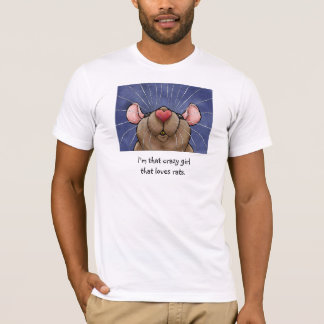 Rats = T-shirt de rat d'amour