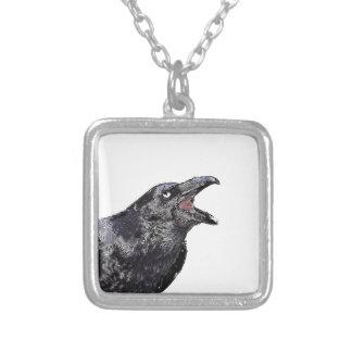 Raven appelle noir collier