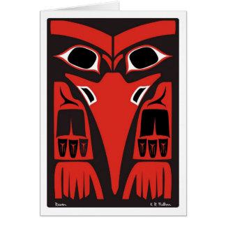 Raven Carte De Vœux