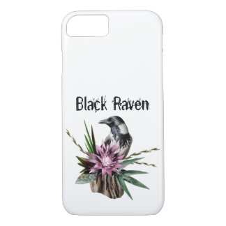 Raven noir coque iPhone 8/7