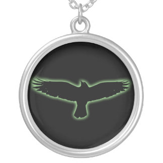 Raven Pendentif Rond