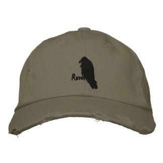 Raven sur Raven a brodé le casquette Casquette Brodée