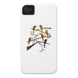 Ravens dans la brume coques iPhone 4 Case-Mate