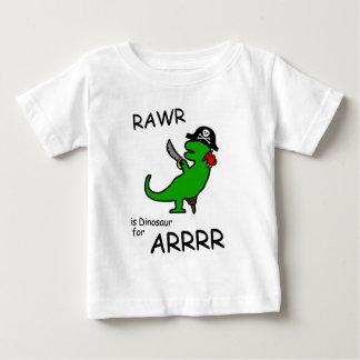 RAWR est dinosaure pour ARRR (le dinosaure de T-shirt Pour Bébé