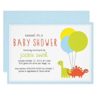 Rawr ! Invitation de baby shower de Dino