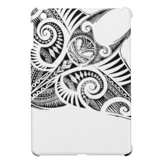 rayon de manta géant maori étui iPad mini
