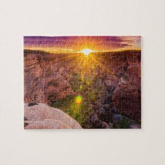 Rayon de soleil chez Canyon de Chelly, AZ Puzzle
