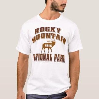 Rayon de soleil de style ancien de montagne t-shirt
