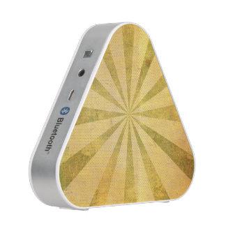 Rayon de soleil jaune sale haut-parleur bluetooth