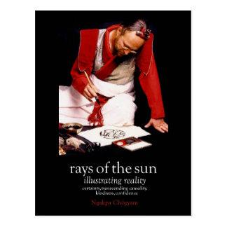 Rayons de la publicité de Sun [carte postale] Carte Postale