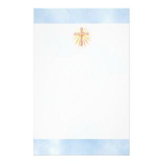 papier à lettre religieux