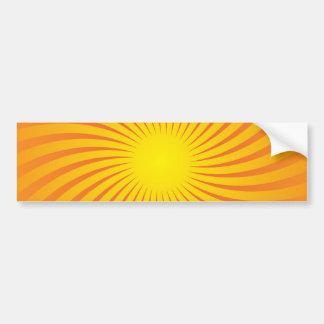 Rayons de Sun Autocollant De Voiture