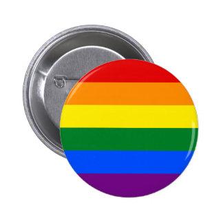 Rayure de drapeau d arc-en-ciel de gay pride de LG Pin's
