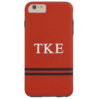Rayure de sport de l'epsilon | de Kappa de Tau Coque Tough iPhone 6 Plus