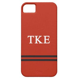 Rayure de sport de l'epsilon | de Kappa de Tau iPhone 5 Case