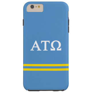 Rayure de sport de Tau Omega | d'alpha Coque Tough iPhone 6 Plus