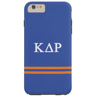Rayure de sport du Rho | de delta de Kappa Coque iPhone 6 Plus Tough