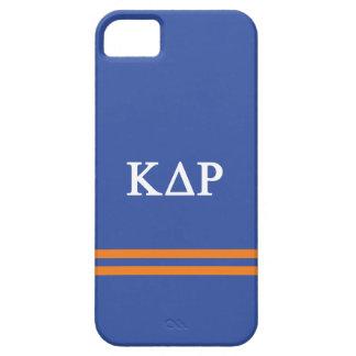 Rayure de sport du Rho | de delta de Kappa Coques Case-Mate iPhone 5