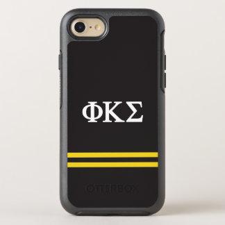 Rayure de sport du sigma | de Kappa de phi Coque OtterBox Symmetry iPhone 8/7