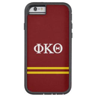 Rayure de sport du thêta | de Kappa de phi Coque iPhone 6 Tough Xtreme