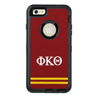 Rayure de sport du thêta | de Kappa de phi Coque OtterBox iPhone 6 Et 6s Plus