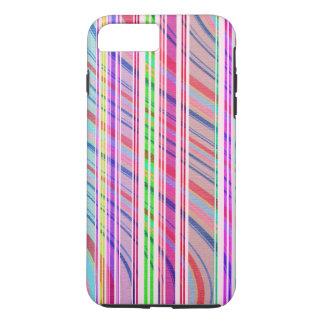 Rayure de sucrerie coque iPhone 7 plus